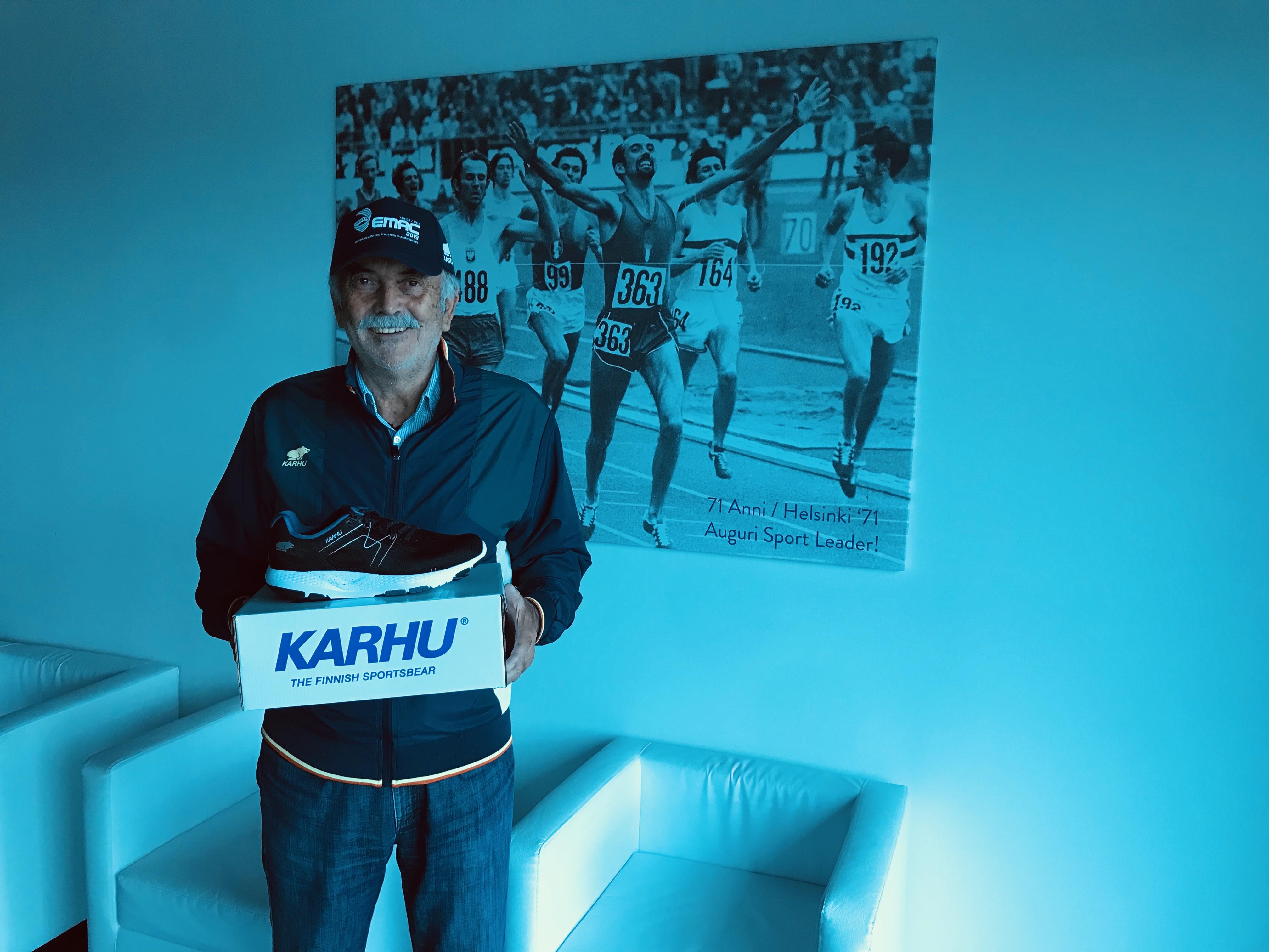 Karhu Ikoni from a distributor in Italy