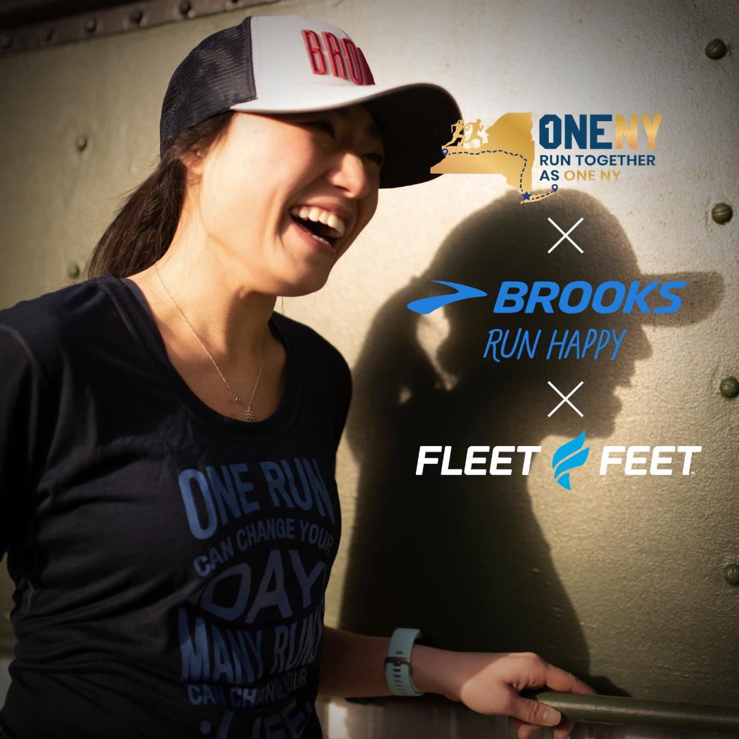 oneny challenge fleet feet and brooks running sponsorship