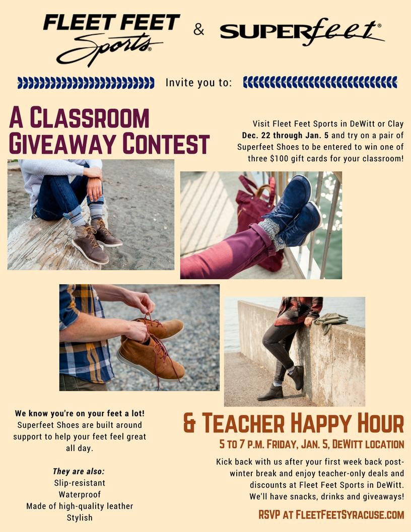 Superfeet Teacher Event