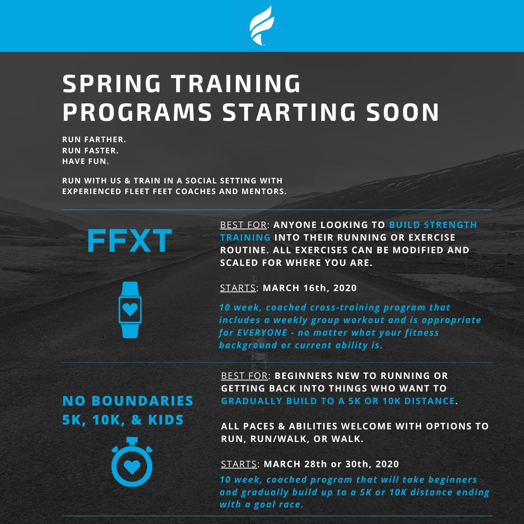 Fleet Feet Syracuse Training Programs